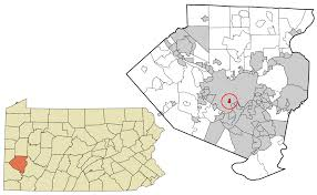 State Map Of Pennsylvania by Mount Oliver Pennsylvania Wikipedia