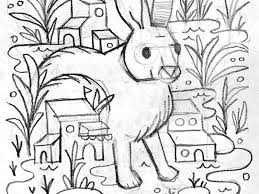 swamp rabbit sketch by aren vandenburgh dribbble