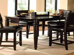 black high top kitchen table tall kitchen tables minimalist dining room design with 9 piece