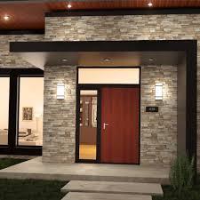 Outdoor V Lighting - flush mount led wall light fixture stainless steel lighting