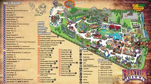Frontier Seat Map Park Map Frontier City