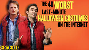 the 40 worst last minute halloween costumes on the internet the