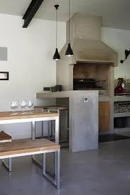 cuisine exterieure beton evier en béton ciré cuisine d extérieur en béton ciré