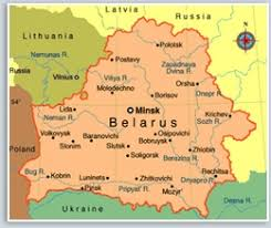 russia map belarus about belarus