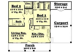 900 Sq Ft Apartment Floor Plan 900 Sq Ft House Plan Hunter 09 002 315 From Planhouse Home