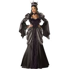 deluxe plus size halloween costumes evil queen once upon a time costume wicked medieval renne faire