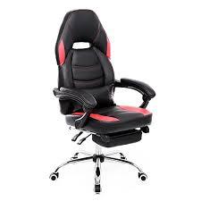 coussin bureau songmics fauteuil de bureau chaise pivotante avec repose pieds