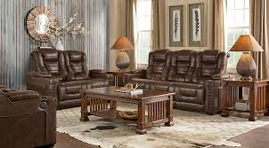 rooms to go living rooms eric church highway to home chief brown 3 pc living room with power