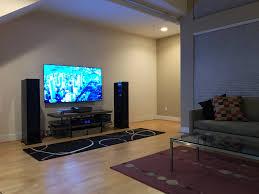 condo loft living room setup 2 channel theatre avforums