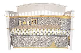 Unique Crib Bedding Sets by 7 Piece Owl Crib Bedding Set Dk Leigh