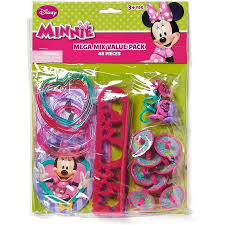 Minnie Mouse Bowtique Curtains Minnie Mouse Bow Tique Party Favor Pack Value Pack Party