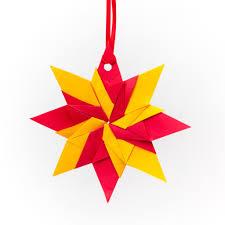 origami ornaments yapoma bazaar