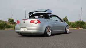 volkswagen japan slammed volkswagen eos from japan youtube