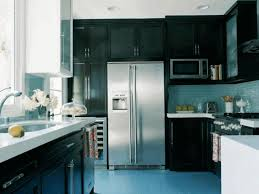 pictures of kitchens with black cabinets varnished striped wood