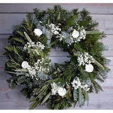 fresh christmas wreaths christmas winter wreath fresh white christmas wreath