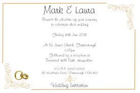 Invitation Acceptance Cards Acceptance To Wedding Invitation Wedding Invitation Sample