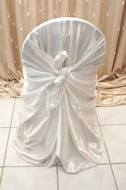 satin chair covers white satin chair cover right choice linen