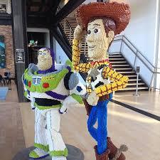 buzz woody lego form pixar tour cutest couples