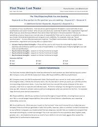 Resume Template Docx Ready Resume Format