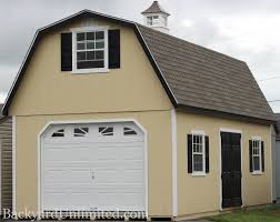 gambrel roof garages garages large storage single car garages backyard unlimited