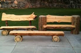 12 best log benches images on pinterest log benches furniture