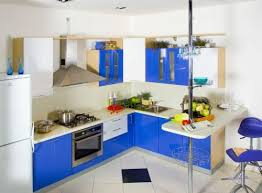 colorful kitchen design modern blue and white kitchen design designs ideas and decors