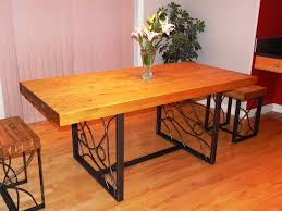 butcher block dining tables small kitchen with butcher block image of butcher block table island