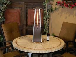 palm springs patio heater outdoor heat lamp table top hankodirect decoration