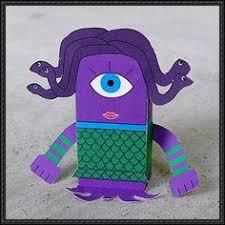 disney pixar monsters mike wazowski free paper toy