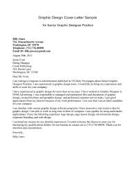 writing a cover letter for graphic design internship