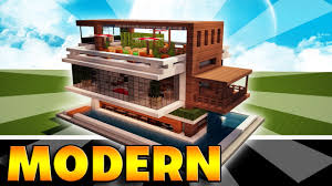 modern mansion beach house architecture minecraft how to make a modern mansion easy house tutorial