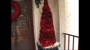 christmas tree ideas tinsel tree youtube