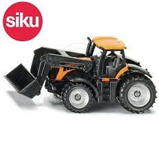 siku no 1356 1 87 scale jcb fastrac tractor with front loader