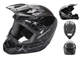 fly motocross gear fly racing kinetic crux helmet revzilla