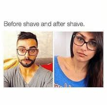 Shaving Meme - before shave and after shave hindi language meme on me me