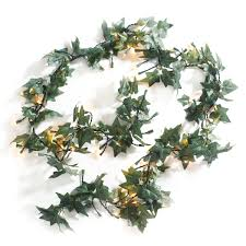 String Of Flower Lights by Ivy String Lights The Green Head