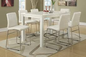 tall white kitchen table 56 white dining table set paris white high gloss round dining table
