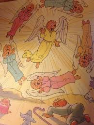 the berenstain bears the very first christmas the he said she