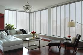 Contemporary Window Curtains Douglas Contemporary Living Window Treatments And Draperies