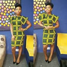 african ankara midi dress with shoulder detail african