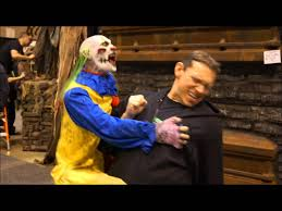 Psy Halloween Costume Psy Clown Attack Puppet 2013 Transworld Haunt Show St