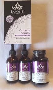 la folie lafolie hair therapy growth serum biotin vitamins