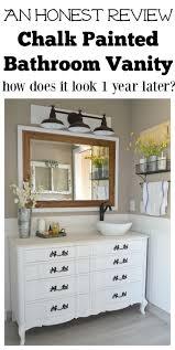 Painted Bathroom Vanity Ideas by Best 25 Painting Bathroom Vanities Ideas On Pinterest Paint