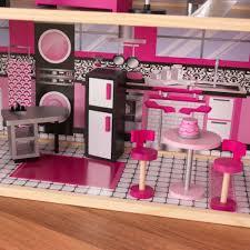 kidkraft modern country kitchen sparkle mansion dollhouse