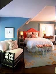 blue and orange decor photos hgtv blue and orange attic bedroom loversiq