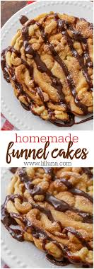 cake how to best funnel cake recipe lil