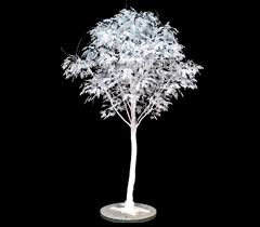 artificial white leaf oak tree oak 12 commercial silk int l