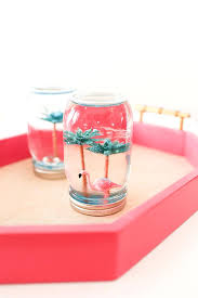 snow globes for children summer snow globes flamingos make your