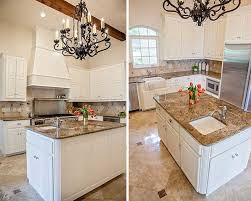 Before And After White Kitchen Cabinets Kitchen Painting Projects Dramatic Before And After Photos