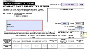 fill out a combined sales u0026 use tax return youtube